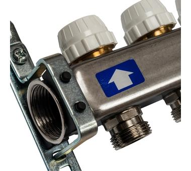 SMS 0922 000012 STOUT Коллектор из нержавеющей стали без расходомеров 12 вых.3