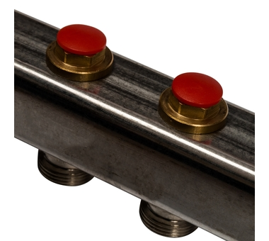 SMS 0922 000012 STOUT Коллектор из нержавеющей стали без расходомеров 12 вых.4