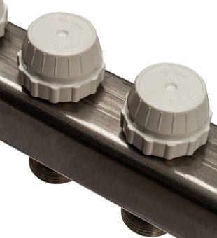 SMS 0922 000012 STOUT Коллектор из нержавеющей стали без расходомеров 12 вых.5