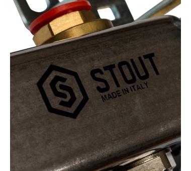 SMS 0922 000012 STOUT Коллектор из нержавеющей стали без расходомеров 12 вых.6