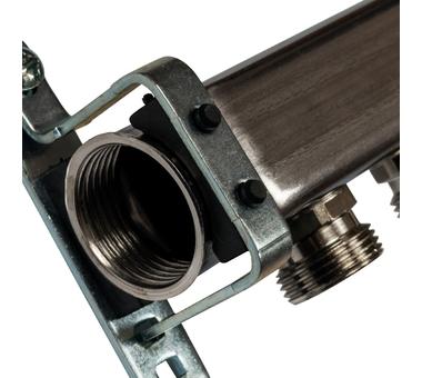 SMS 0923 000006 STOUT Коллектор из нержавеющей стали для радиаторной разводки 6 вых.2