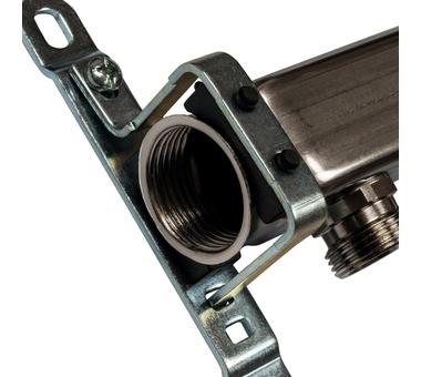 SMS 0923 000007 STOUT Коллектор из нержавеющей стали для радиаторной разводки 7 вых.2