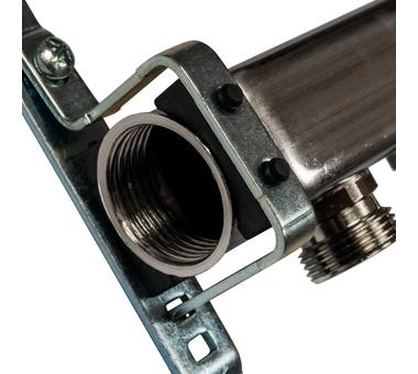 SMS 0923 000008 STOUT Коллектор из нержавеющей стали для радиаторной разводки 8 вых.2