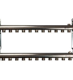 SMS 0923 000011 STOUT Коллектор из нержавеющей стали для радиаторной разводки 11 вых.