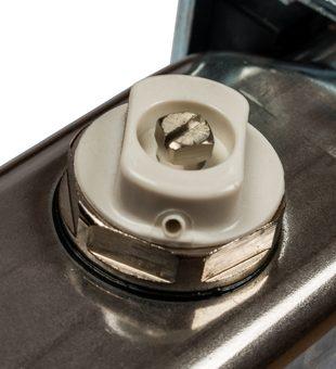 SMS-0927-000002 STOUT Коллектор из нержавеющей стали с расходомерами, с клапаном вып. воздуха и сливом 2 вых.5