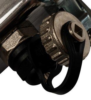 SMS-0927-000003 STOUT Коллектор из нержавеющей стали с расходомерами, с клапаном вып. воздуха и сливом 3 вых.7