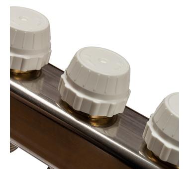 SMS-0927-000004 STOUT Коллектор из нержавеющей стали с расходомерами, с клапаном вып. воздуха и сливом 4 вых.5