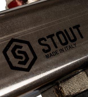 SMS-0927-000007 STOUT Коллектор из нержавеющей стали с расходомерами, с клапаном вып. воздуха и сливом 7 вых.6