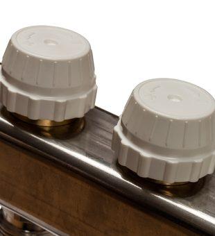 SMS-0927-000008 STOUT Коллектор из нержавеющей стали с расходомерами, с клапаном вып. воздуха и сливом 8 вых.5