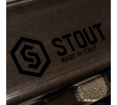 SMS-0927-000010 STOUT Коллектор из нержавеющей стали с расходомерами, с клапаном вып. воздуха и сливом 10 вых.8