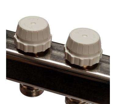 SMS-0927-000011 STOUT Коллектор из нержавеющей стали с расходомерами, с клапаном вып. воздуха и сливом 11 вых.5