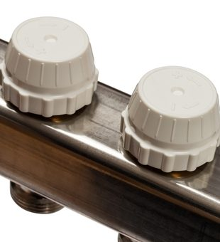 SMS-0927-000012 STOUT Коллектор из нержавеющей стали с расходомерами, с клапаном вып. воздуха и сливом 12 вых.5