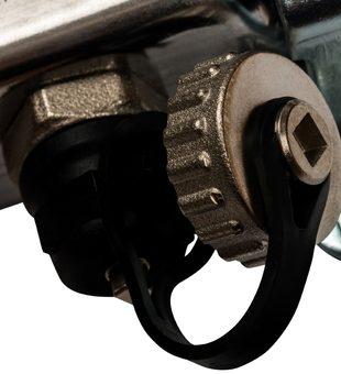 SMS-0932-000005 STOUT Коллектор из нержавеющей стали без расходомеров, с клапаном вып. воздуха и сливом 5 вых.6