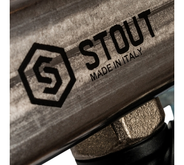 SMS-0932-000006 STOUT Коллектор из нержавеющей стали без расходомеров, с клапаном вып. воздуха и сливом 6 вых.7
