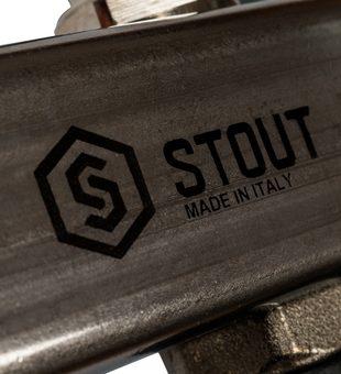 SMS-0932-000011 STOUT Коллектор из нержавеющей стали без расходомеров, с клапаном вып. воздуха и сливом 11 вых.9